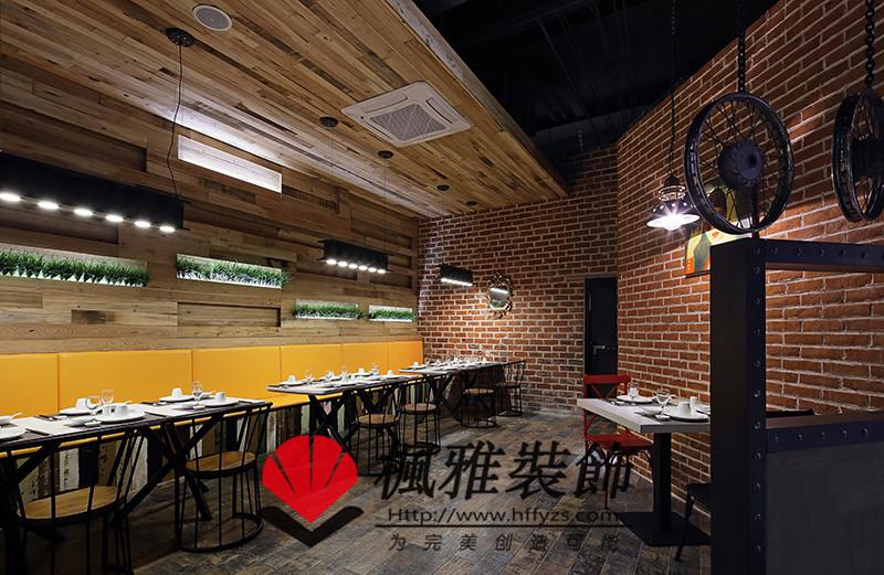 合肥餐厅餐馆装修_loft工业风引领整个餐饮界!
