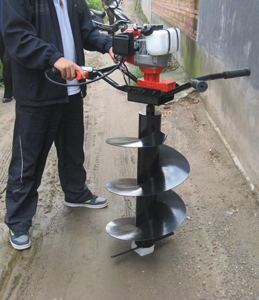 汽油挖坑机 园林栽树挖坑机 农用打孔机