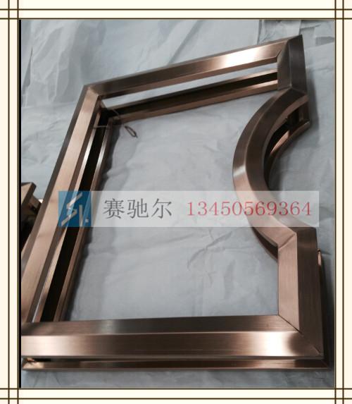 不锈钢雕花焊接弧度线条