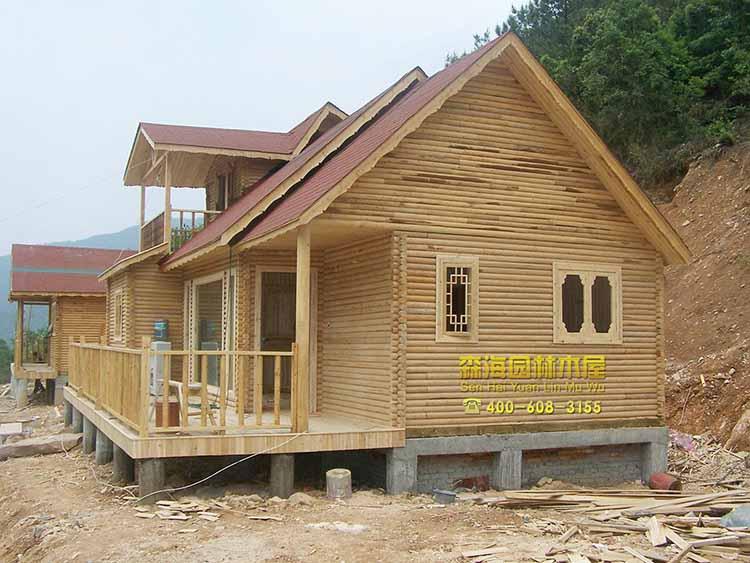 内江威远县木屋别墅建造公司 防腐木结构房屋住宅价格 园林木屋