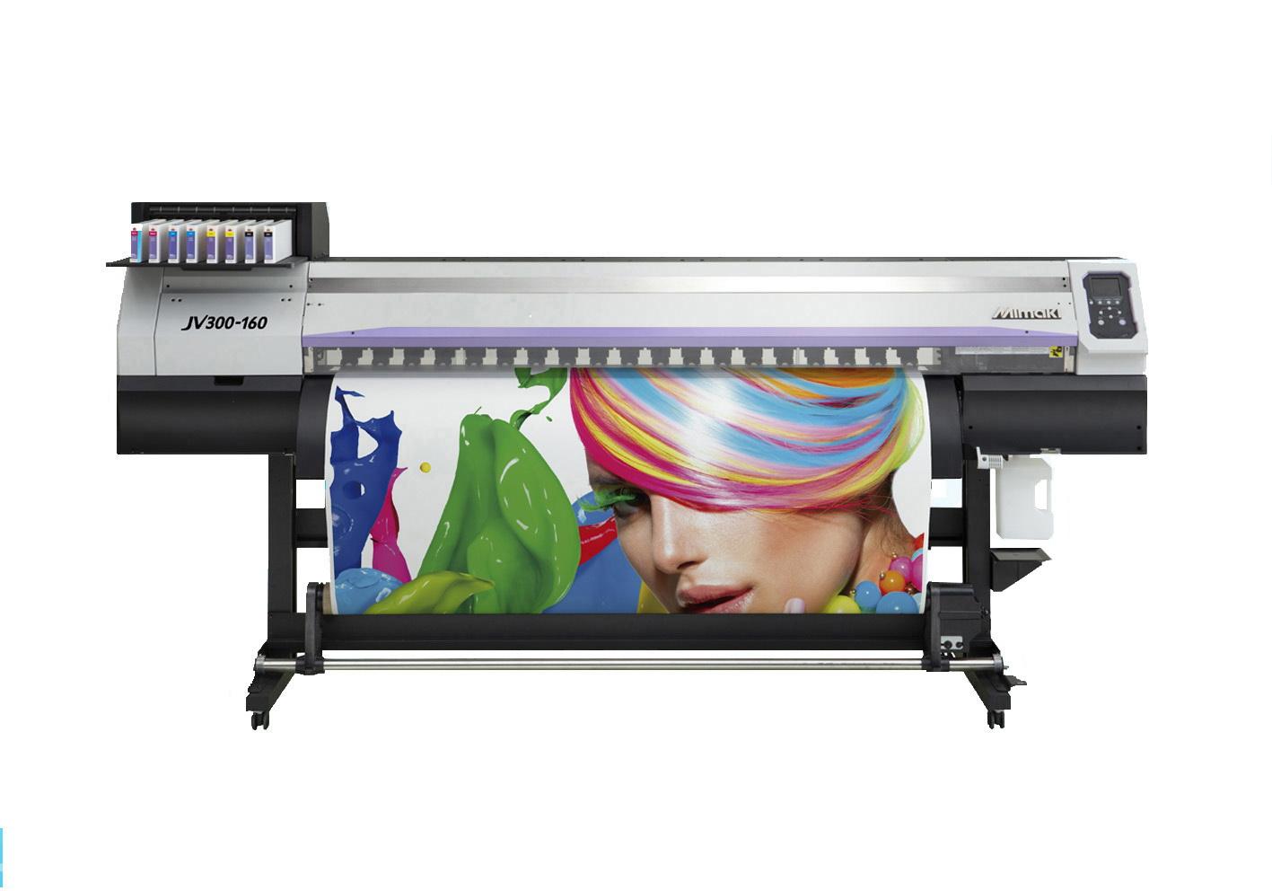 双喷头高速进口数码打印机-jv300