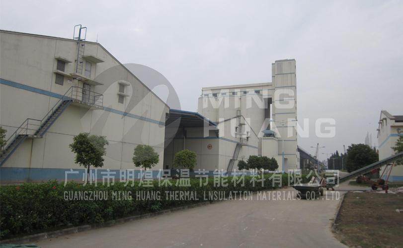 佛山市顺德区中心储备粮库-保温喷涂工程施工