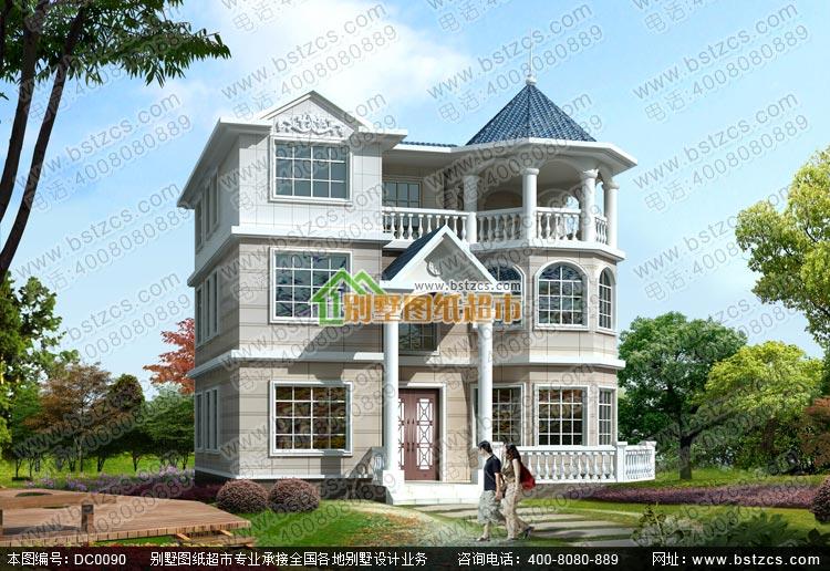 新款农村别墅图纸内容 建 筑 图: 建筑设计说明、工程做法、一层平面图、二层平面图、三层平面图、屋顶平面图、正立面图、背立面图、左立面图、右立面图、1-1剖面图、楼梯大样图、门斗大样图、节点大样图、门窗详图、门窗表 结 构 图: 结构设计总说明、基础平面布置图、基础大样图、柱配筋图、二层梁平法施工图、三层梁平法施工图、闷顶梁平法施工图、顶层梁平法施工图、二层板结构平面图、三层板结构平面图、闷顶板结构平面图、顶层板结构平面图、楼梯配筋图、大样图 给排水图:给排水设计说明及图例、一层给排水平面图、二层给排水