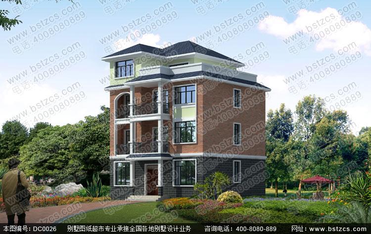 农村房屋设计_农村房屋设计图纸_四层农村房屋设计施工图