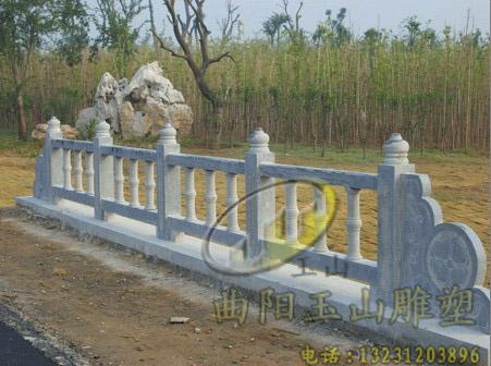 【杭州汉白玉石雕栏杆栏板】安装完成 玉山雕塑