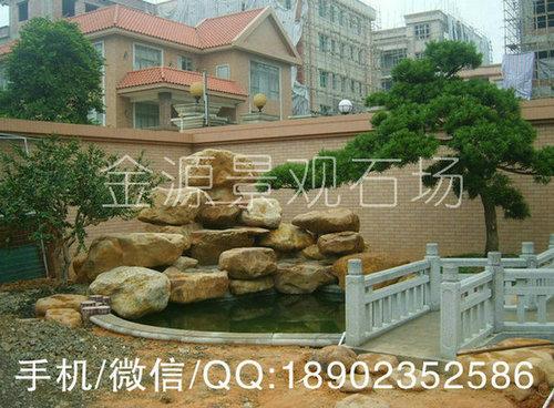 别墅自燃式鱼池