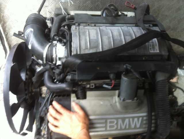 宝马745e66发动机