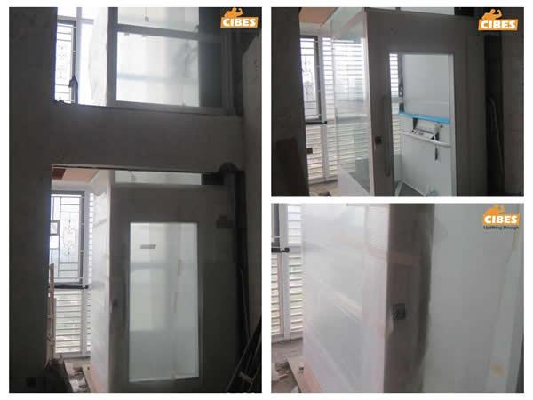 cibes电梯安装于复式楼图片