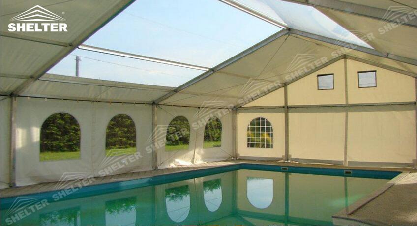 游泳場館篷房定制設計