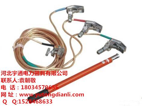 高压接地线接地棒使用方法