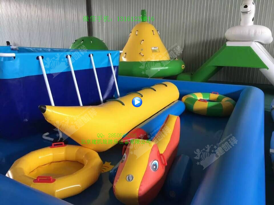 水上雪地v雪地香蕉船双管飞鱼皮划艇水上玩具海豹纹鲨是卵生吧图片