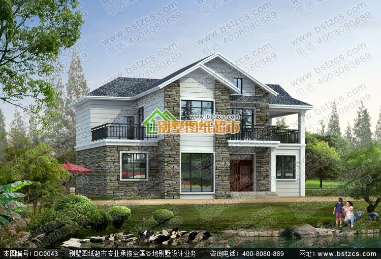 鼎川建筑别墅图纸超市专业为自建别墅人士提供房屋设计图,别墅图片
