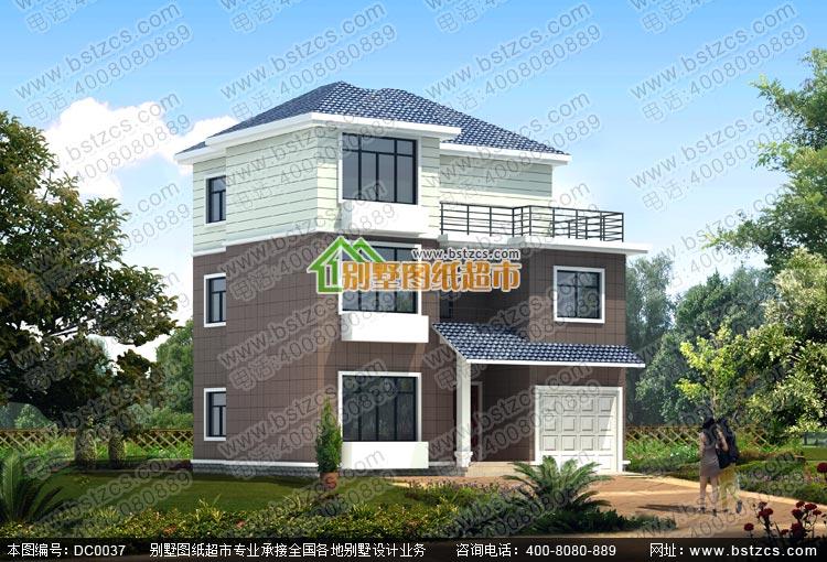 新农村别墅设计图_乡村三层别墅设计