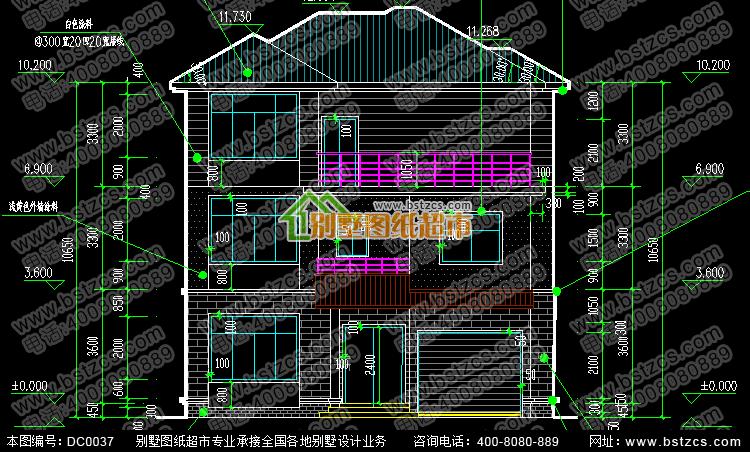 新农村别墅设计图_乡村三层别墅设计_农村自建房设计