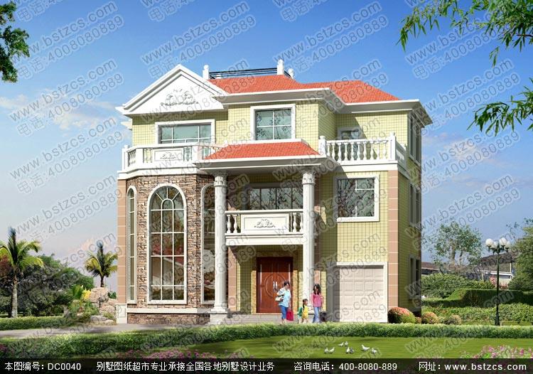 农村自建别墅设计_三层别墅设计图纸_新农村别墅设计施工图纸