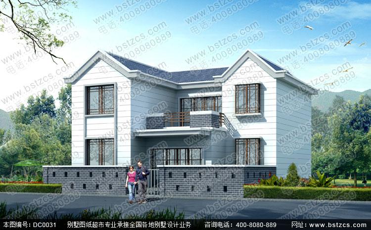 二层农村自建房设计_别墅设计图纸_新农村房屋设计图
