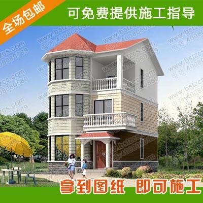 三层别墅全套图纸_三层别墅设计_农村三层自建房设计图纸