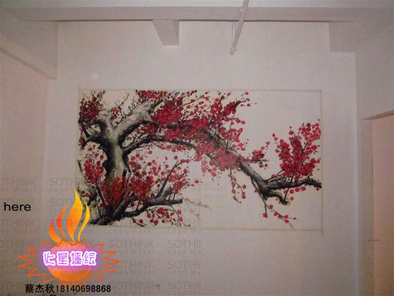武汉手绘墙公司