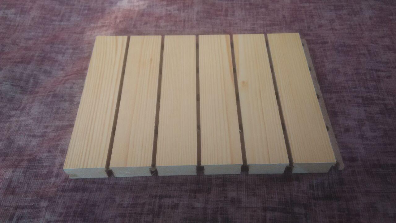 琴房装修用木质吸音板材料