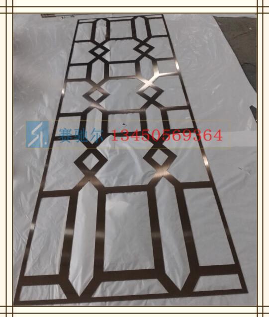 门头不锈钢镂空图案装饰材料  不锈钢门头花  不锈钢雕花