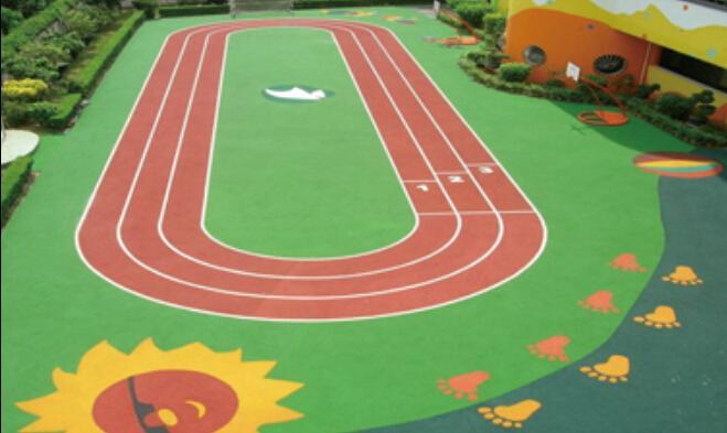 epdm塑胶跑道,专业施工,幼儿园彩色场地