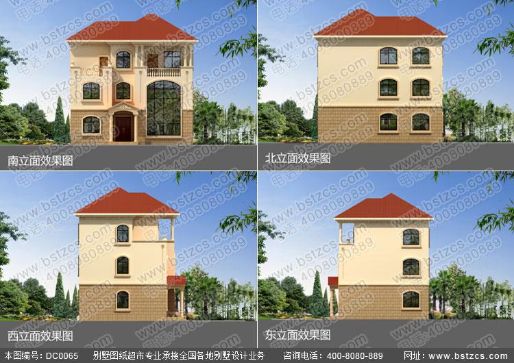 豪华私人别墅设计图纸_别墅设计图纸_农村自建房设计