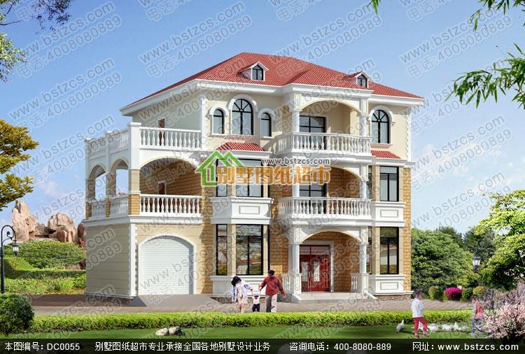 三层欧式别墅设计_别墅设计图纸_新农村别墅设计