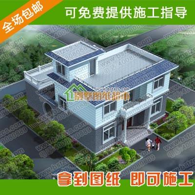 新农村二层自建房设计图纸