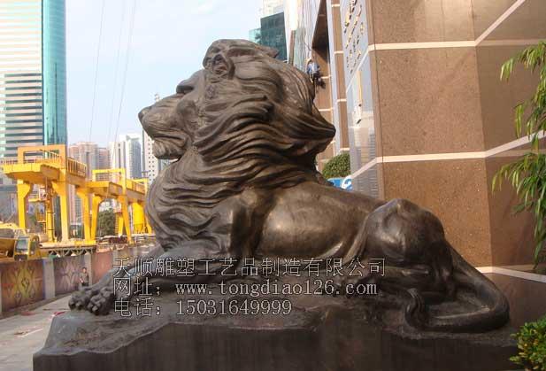供应动物雕塑定做_门口狮子