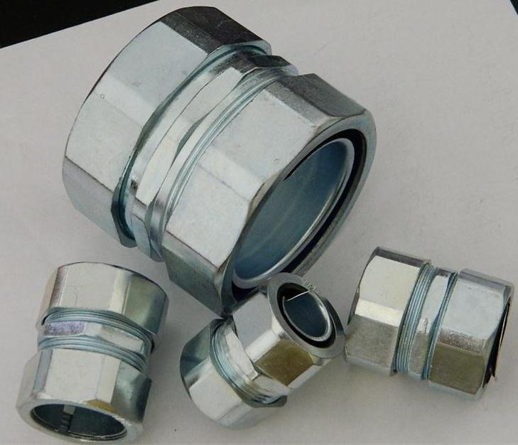 接法固)�_供应g螺纹钢管自固接头,无螺纹钢管连接器