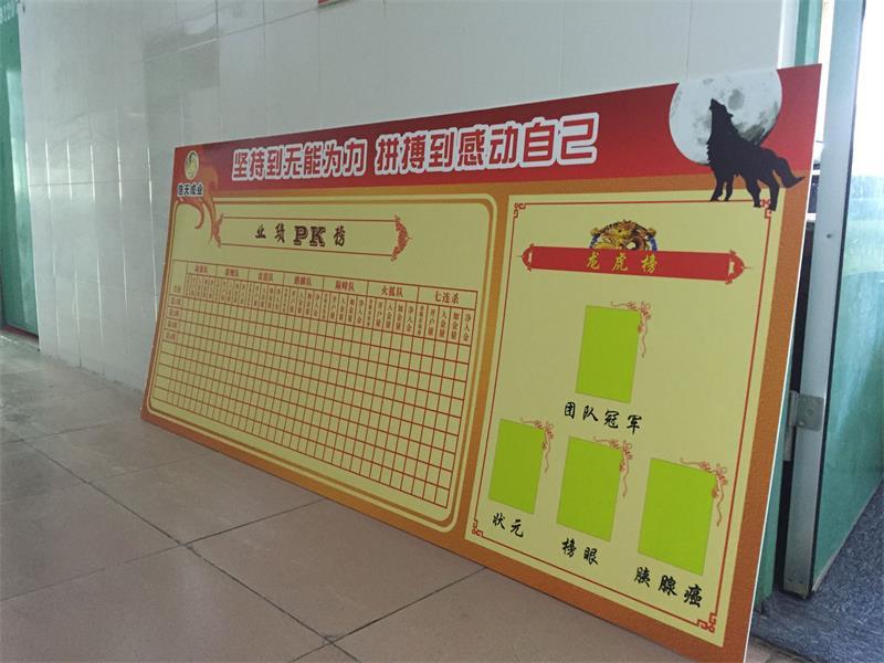 企业标语制作企业文化海报企业业绩pk墙销售龙虎榜销售业绩墙