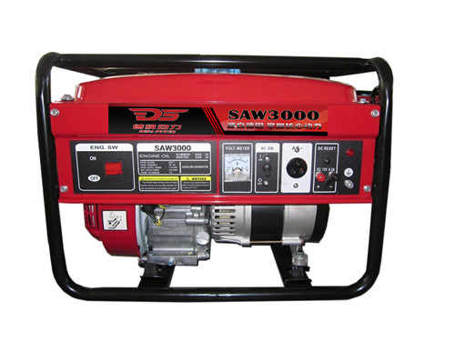 3kw汽油发电机/开架式汽油发电机价格