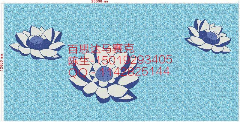 广东游泳池马赛克拼图陶瓷马赛克图片