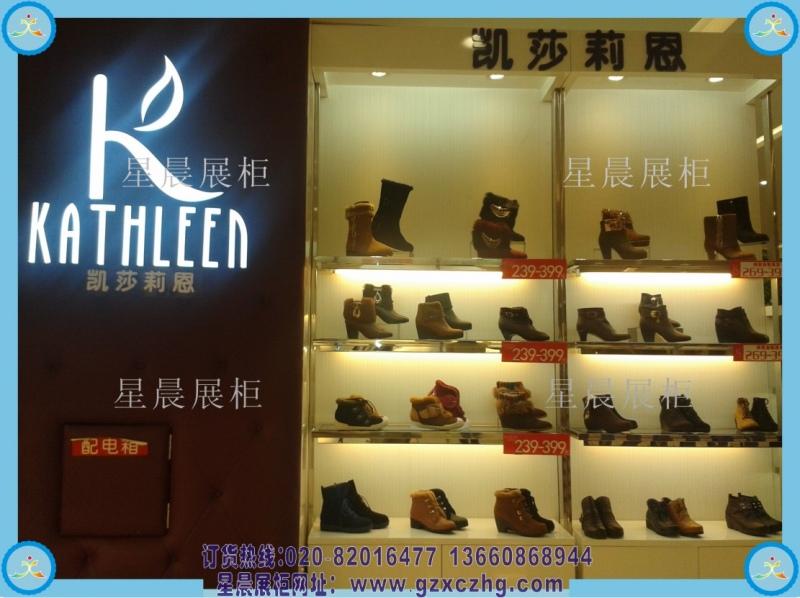 高档男鞋店装修风格图片