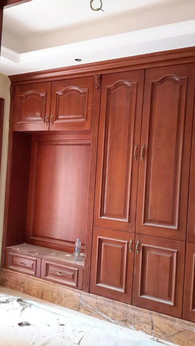 红橡厨柜 衣柜 酒柜 柜门