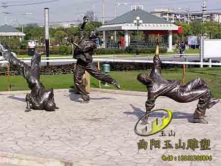 【邢台公园广场铸铜小品雕塑】锻造现场_玉山雕塑_部.