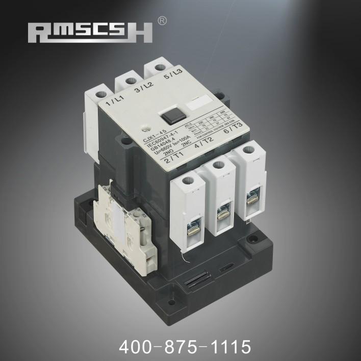 上一个:CJX1-75 22/CJX1-85 22 交流接触器 下一个:CJX1-32 22(3TB44)接触器 上海人民电气(香港)有限公司、乐清市九电电气有限公司于中国电器之都之称的温州市乐清市柳市镇,本企业建于2010年,具有一批先进设备和一支具有创新精神的研发团队。   公司是专业生产配电输电设备的生产企业,主要生产塑壳断路器,智能型框架断路器,交流接触器,空气开关,透明断路器,无功功率补偿器,复合开关,容性无触点开关,直流接触器,切换电容接触器,刀开关,电能表等系列低压成套元器件产品,本公司集开