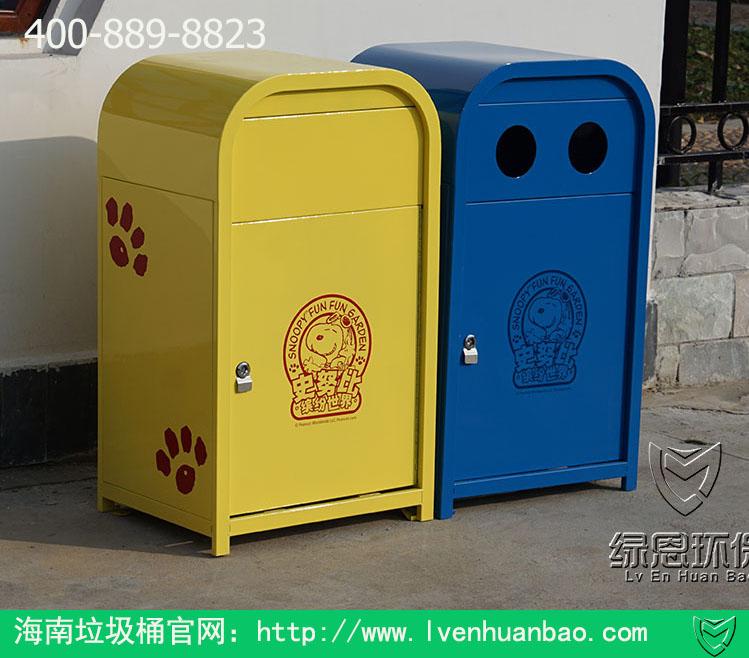 海南绿恩环保幼儿园垃圾桶