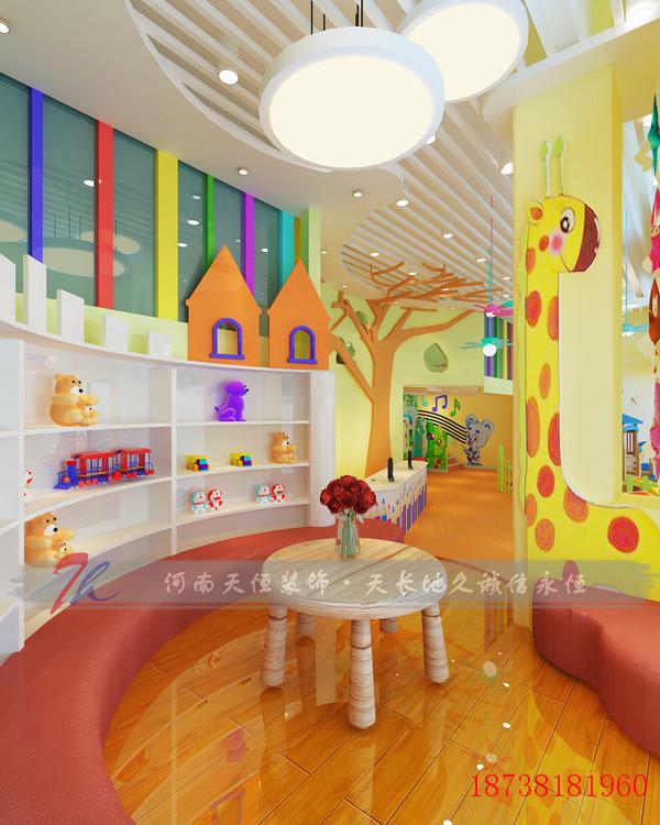 郑州幼儿园装修设计如何通过良好的环境服务幼儿 郑州幼儿园装修设计如何通过良好的环境服务幼儿。幼儿园是为教育和培养幼儿提供服务的,一般针对的是3-6岁的幼儿。众所周知,一个正气弘扬,幽静甜美的校园环境,可以让小朋友更容易的接受和融入。相反的环境明显会让小朋友和家长产生排斥心理。河南天恒装饰公司成立于2004年,拥有国家建设部设计施工一体化二级资质,是您办公室装修设计的有力保障,装修顾问电话:18738181960 郑州幼儿园装修设计,在幼儿园整体规划设计上,我们会结合孩子的心理和身理特点,因地制宜的为幼儿园