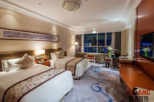 重庆涪陵主题宾馆装修设计|涪陵酒店宾馆装修|专业酒店设计公司