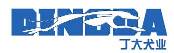 丁大犬业繁殖以及训练基地Logo
