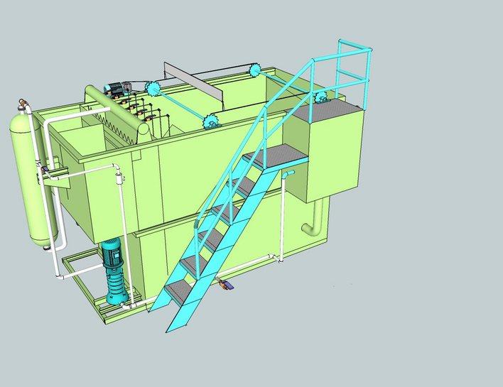 商国互联首页 产品库 环保,水处理 污水处理设备 气浮设备     2,结构