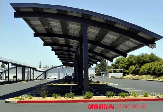 威海车棚,威海光伏车棚,威海钢结构车棚安装厂家