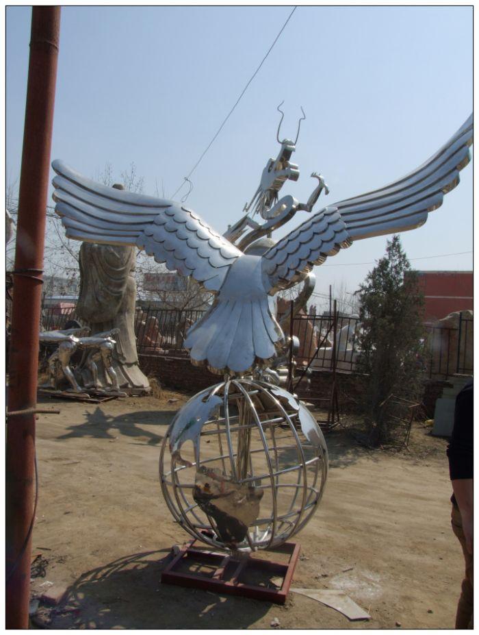 不锈钢雕塑公司,北京不锈钢雕塑加工厂