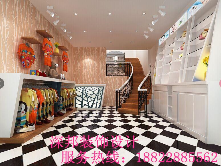 沙井店铺装修 服装店装饰设计 商业空间装修