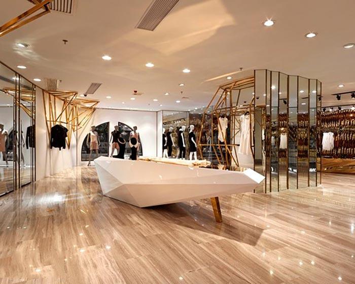 公明店铺装修 服装店装饰设计 商业空间装修 店铺 装修