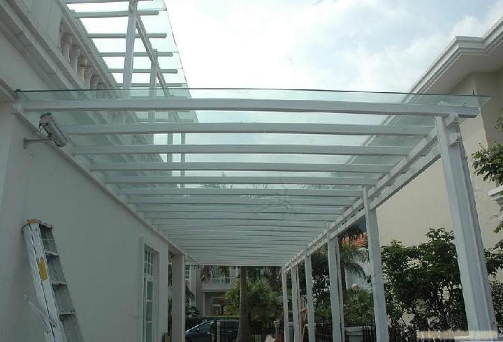 海淀区安装玻璃雨棚 安装阳关板雨棚厂家