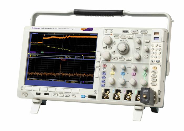 示波器示意�_上门回收二手tektronix/泰克mdo4054c示波器