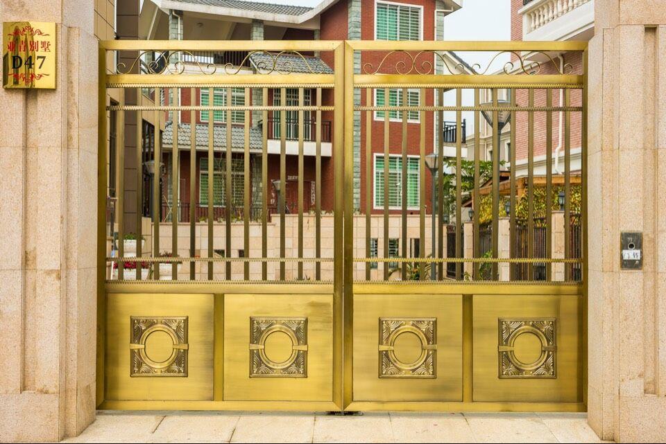 泉州欧式不锈钢门_哪里可以买到优惠的别墅院门