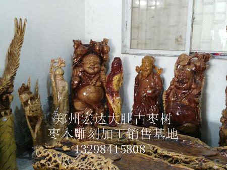 雕刻加工口碑一流|濮阳根艺雕刻定制 枣木雕刻 枣木雕刻加工